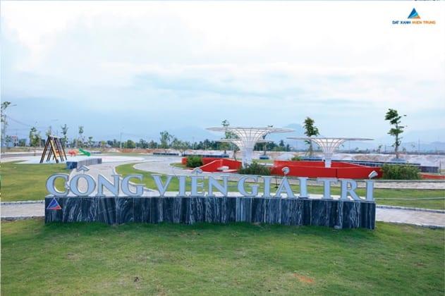 Công viên vui chơi tại dự án đã được đưa vào sử dụng