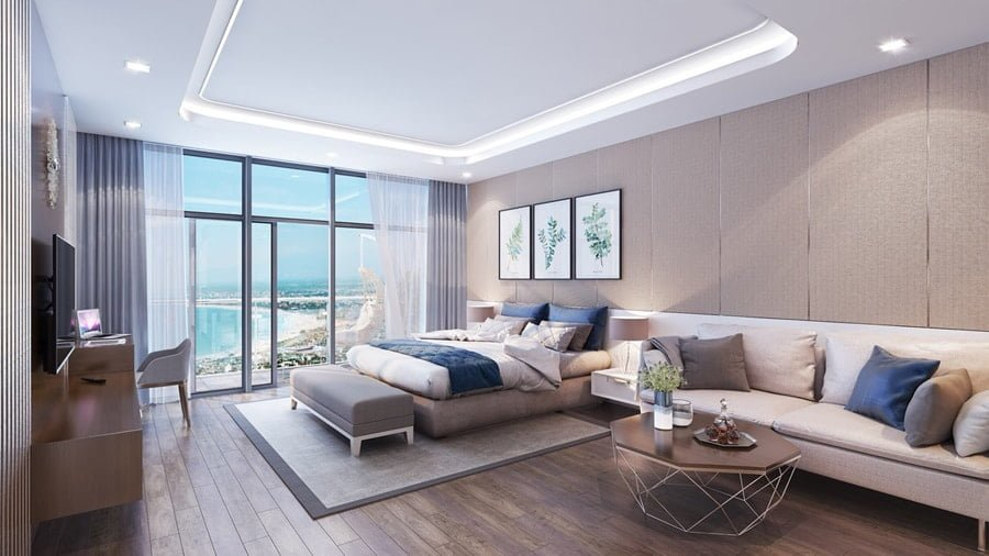 căn hộ mẫu dự án căn hộ Condotel Twin Towers Đà Nẵng