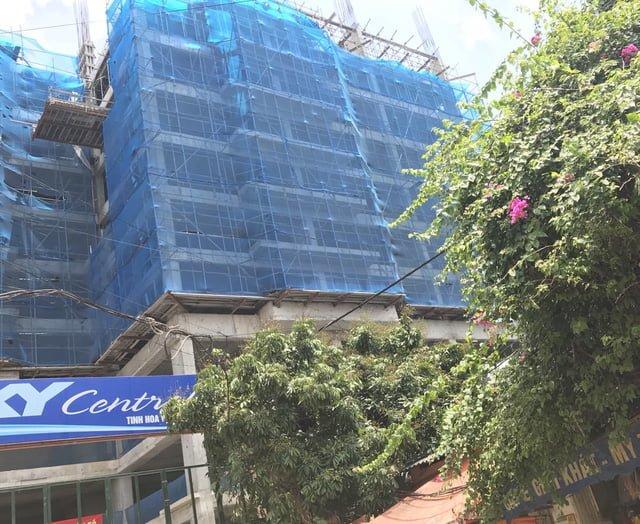 tiến độ xây dựng chung cư Sky Central