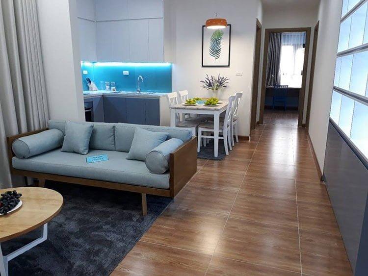 hình ảnh căn hộ mẫu chung cư samsora premier 105 chu văn an