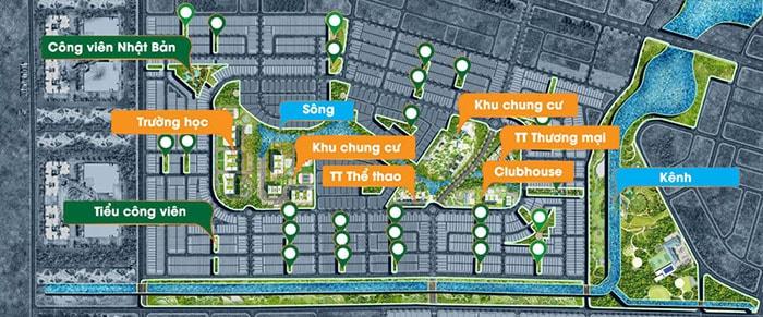 Tiện ích đầy đủ có tại khu đô thị Dragon Smart City