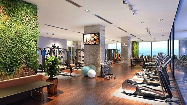 Phòng tập Gym tại chung cư Rivera Park