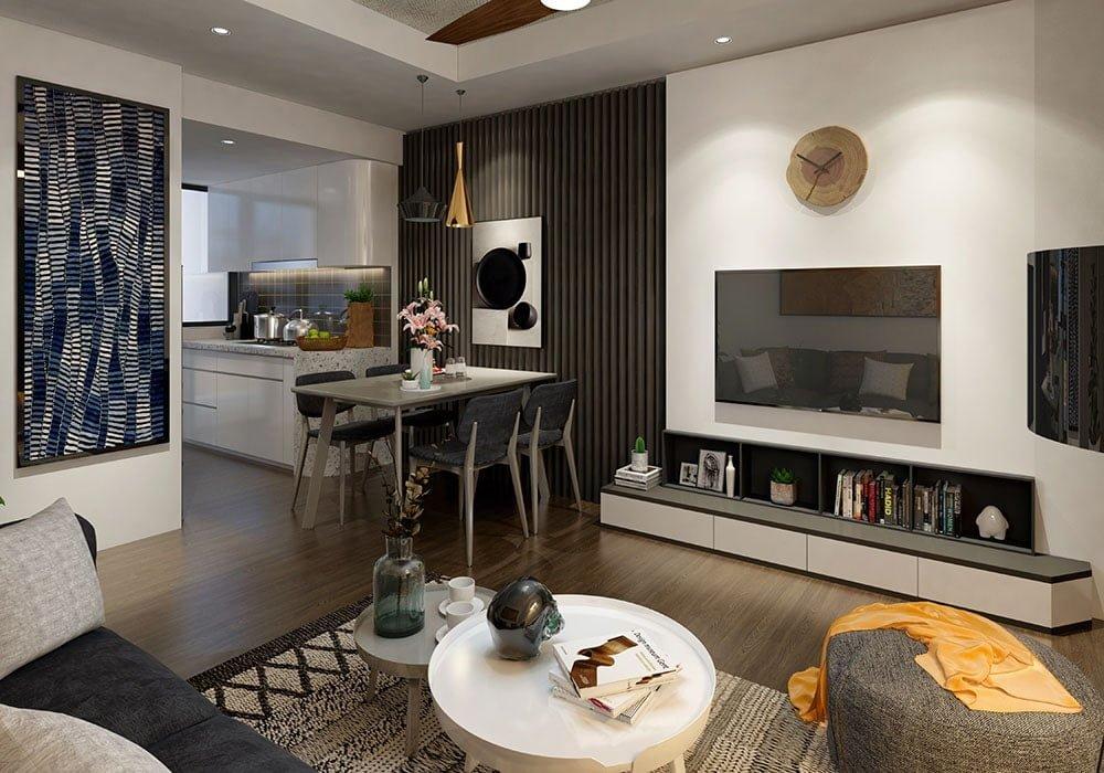 Nhà mẫu dự án căn hộ chung cư Apec Golden Palace (2)