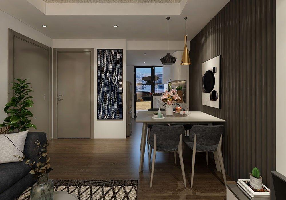 Nhà mẫu dự án căn hộ chung cư Apec Golden Palace (3)