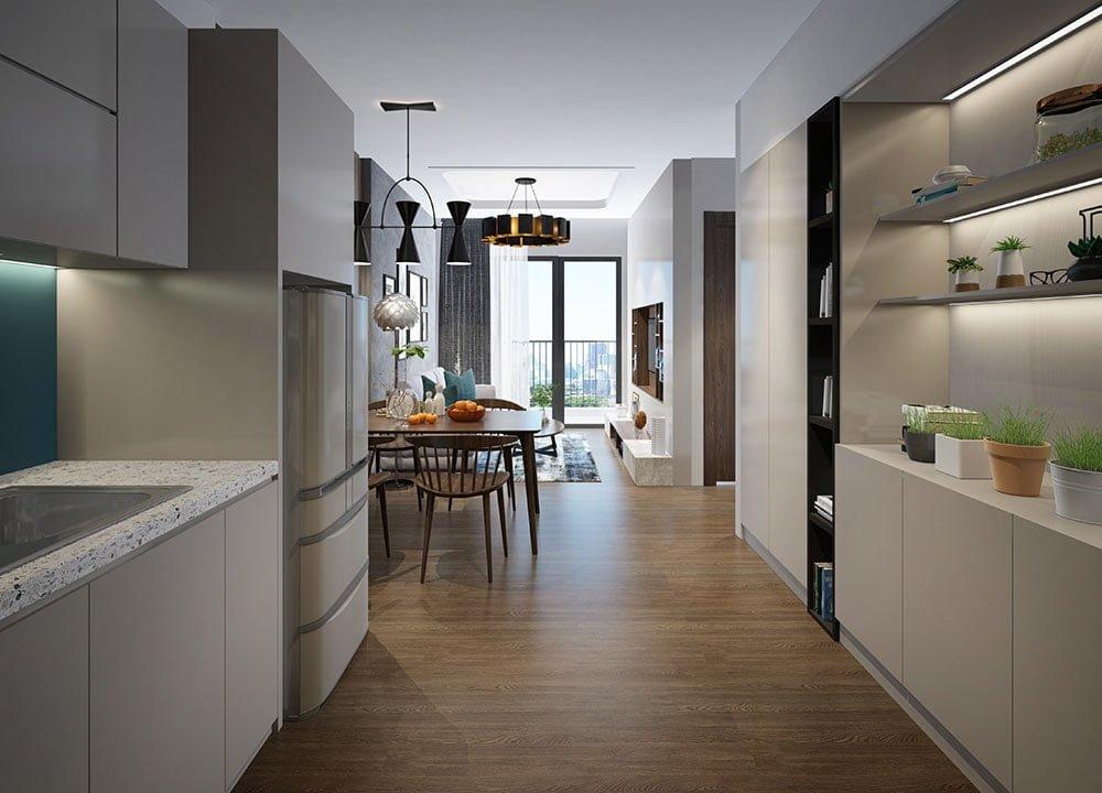 Nhà mẫu dự án căn hộ chung cư Apec Golden Palace