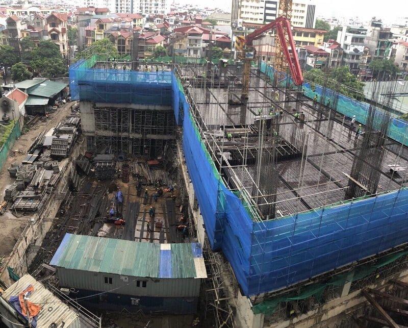 tiến độ xây dựng dự án chung cư an bình plaza