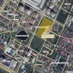 Vị trí dự án No15 No16 Sài Đồng