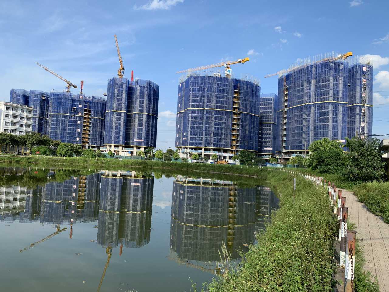 Tiến độ thi công chung cư Le Grand Jardin Sài Đồng