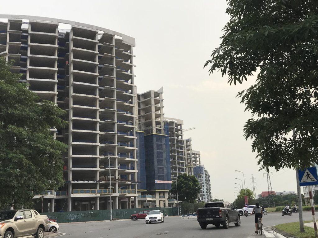 Tiến độ xây dựng chung cư Le Grand Jadin