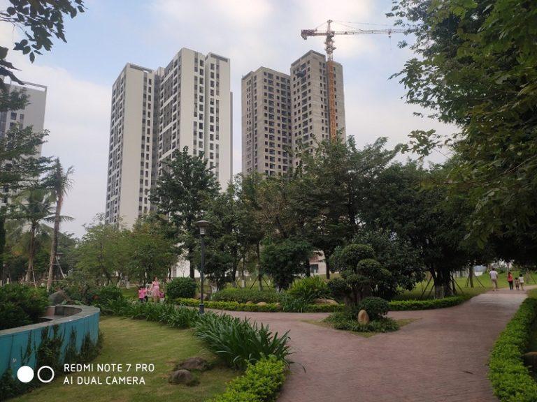 Tiến độ xây dựng Gardenia Hồng Hà Eco City