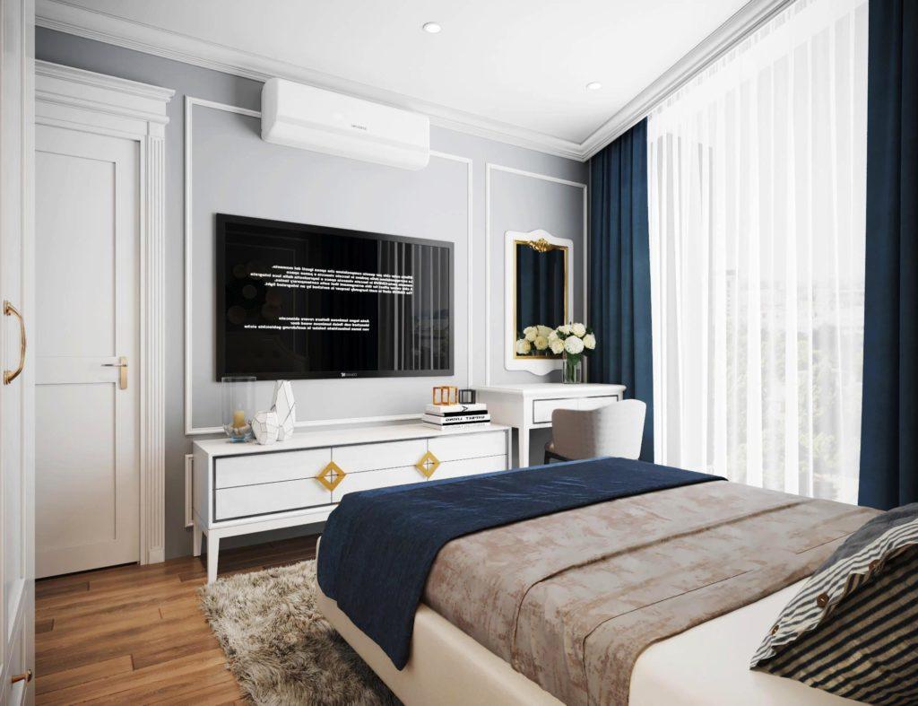 Mẫu nội thất phòng ngủ căn hộ Le Grand Jardin