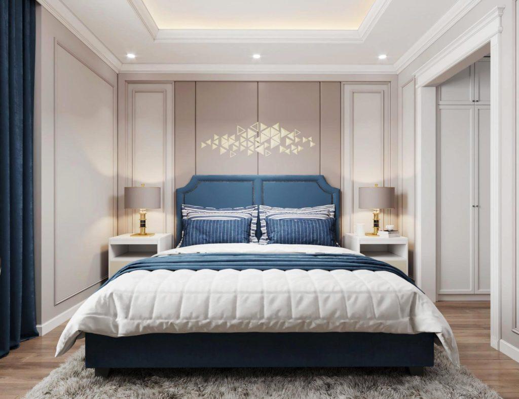 Phòng ngủ nhỏ tại căn hộ chung cư Le Grand Jardin