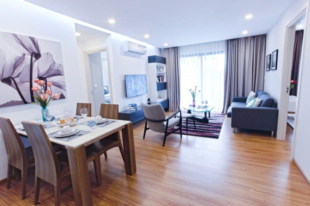 Căn hộ mẫu Ct11 Hồng Hà Eco City
