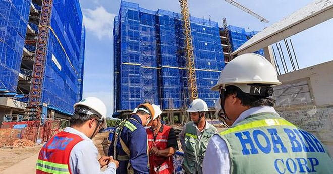Dự án được thi công bởi Tập đoàn Xây dựng Hòa Bình - nhà thầu top đầu thị trường xây dựng