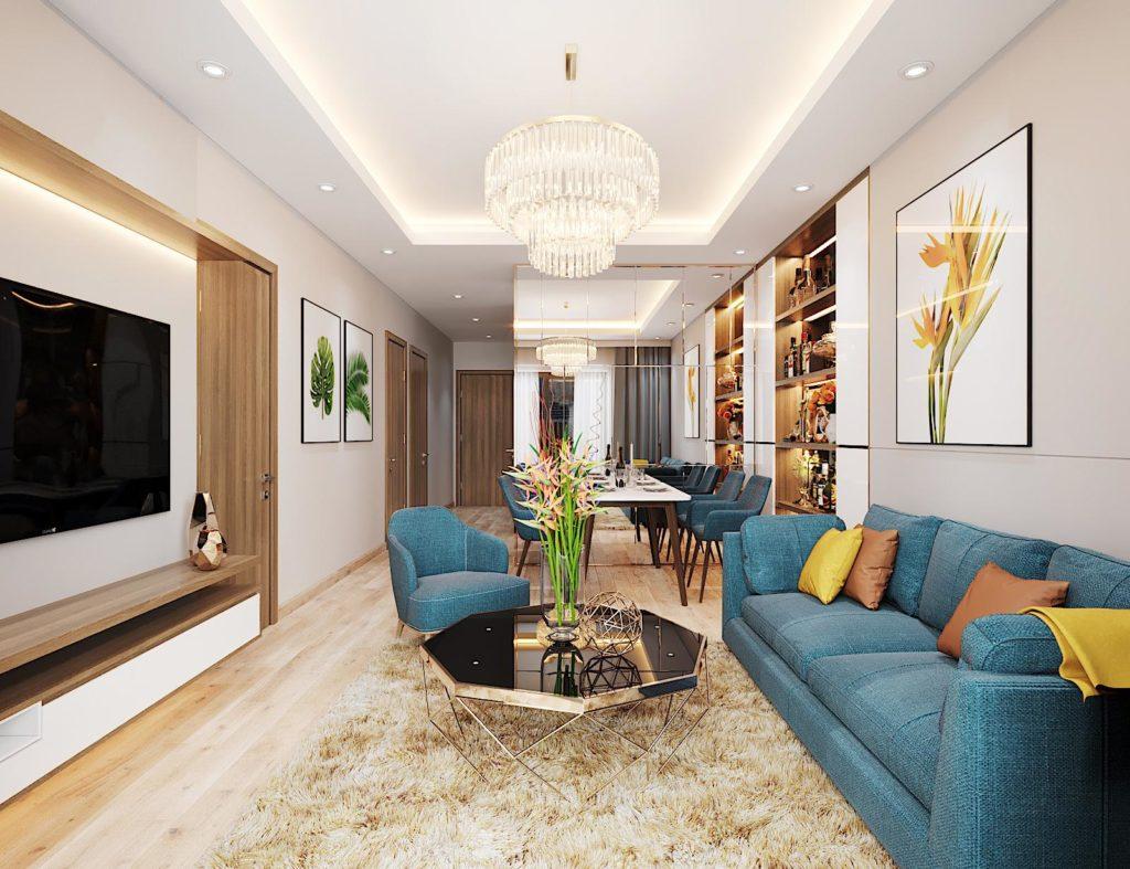 Mẫu thiết kế nội thất chung cư Le Grand Jardin