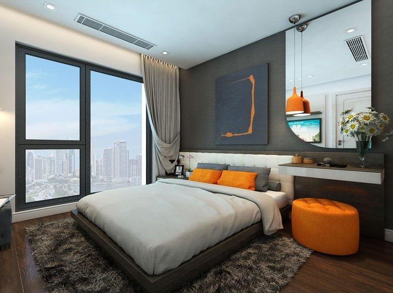 Phòng ngủ chung cư Le Grand Jardin