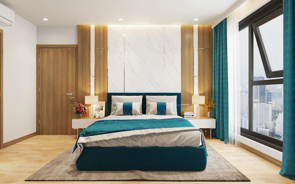 Thiết kế phòng ngủ chung cư Le Grand Jardin