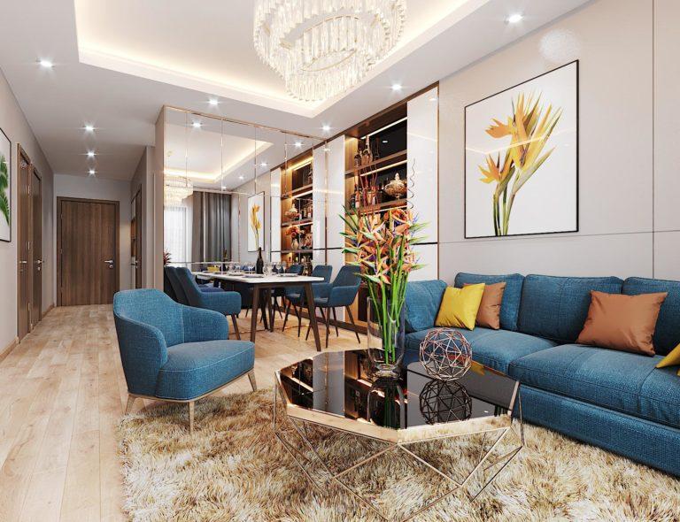 thiết kế nội thất chung cư Le Grand Jardin