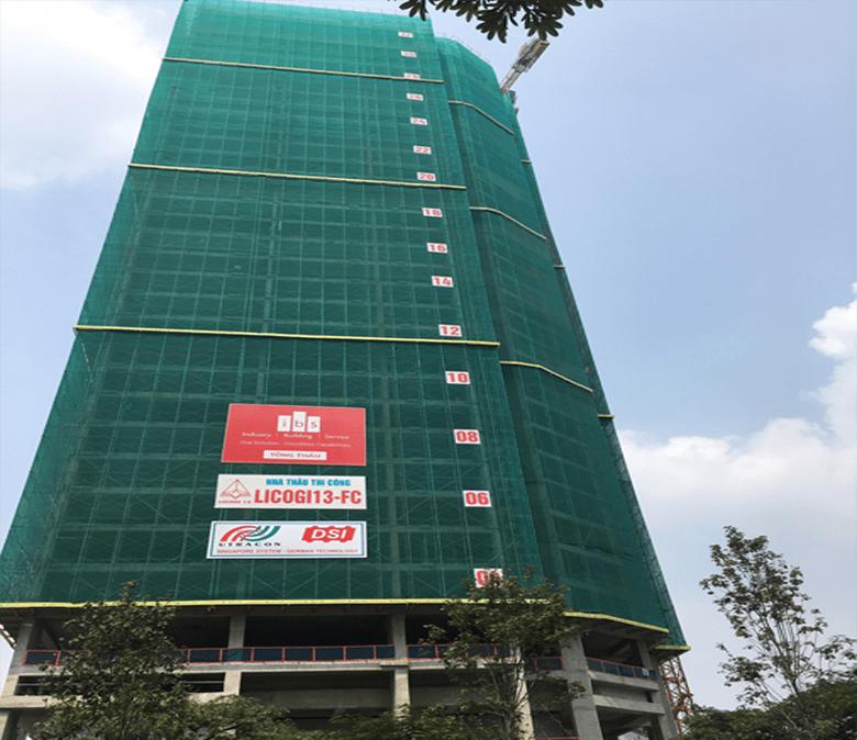 Tiến độ xây dựng chung cư Summit Building