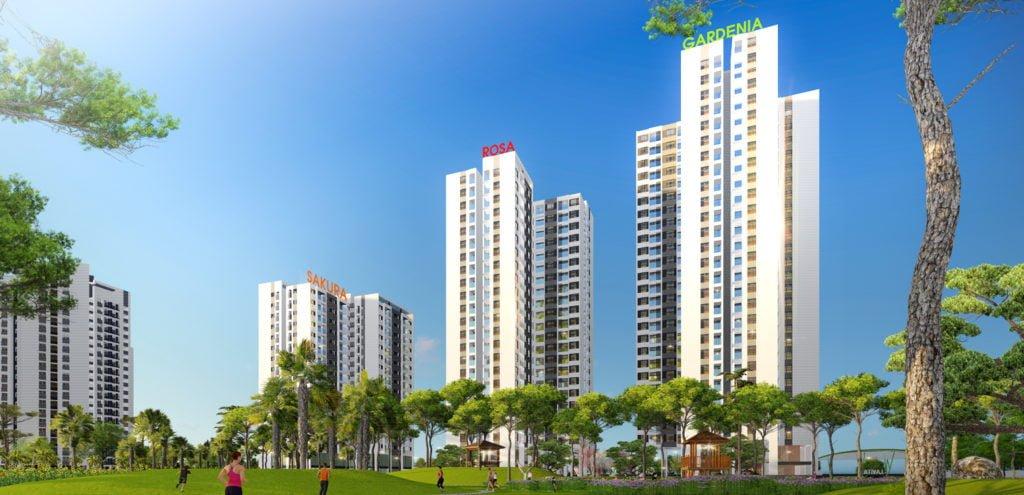 Thiết kế tòa CT11 Gardenia Hồng Hà Eco City