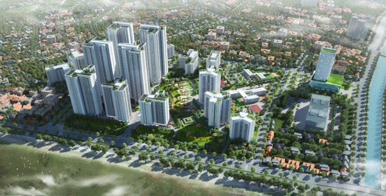 Quần thể khu đô thị Hồng Hà Eco City