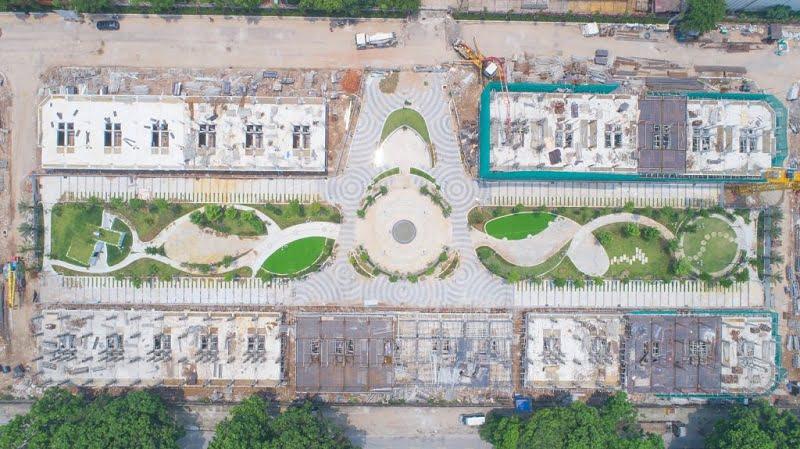 Tiến độ xây dựng dự án Bình Minh Garden