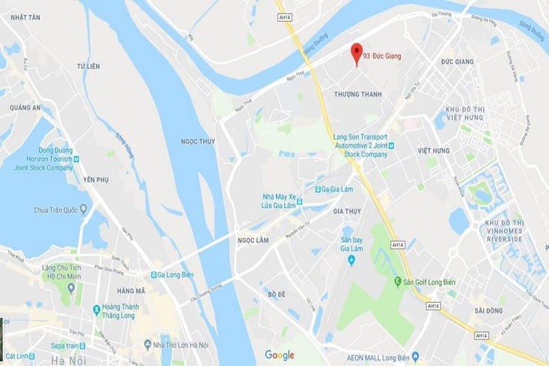 Chung cư Bình Mình Garden Google Map