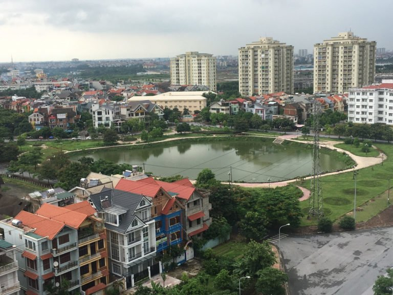 Môi trường sống trong lành tại Khu đô thị Sài Đồng