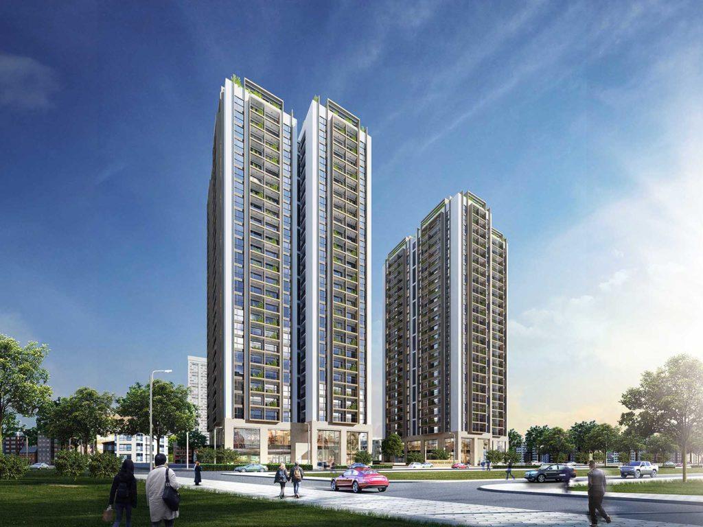Dự án chung cư Thống Nhất Complex