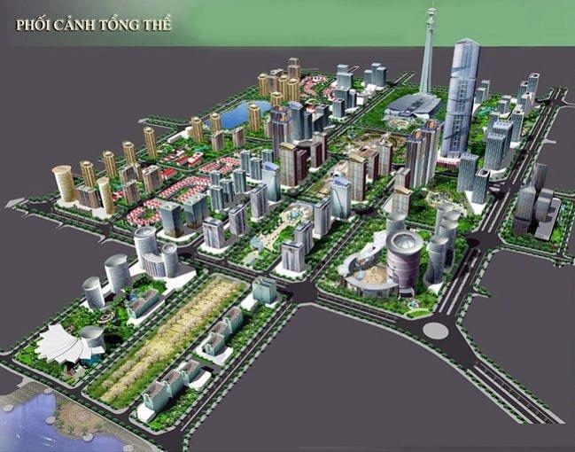 Quy hoạch Khu đô thị Mỹ Hưng Cienco 5