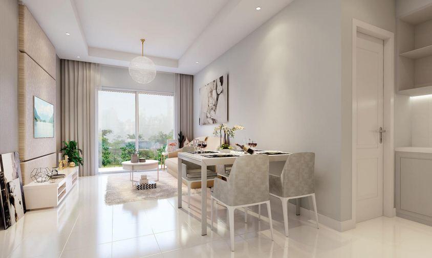 Nhà mẫu dự án chung cư mặt đường Trần Duy Hưng