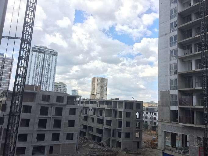 Tiến độ xây dựng liền kề thống nhất Complex