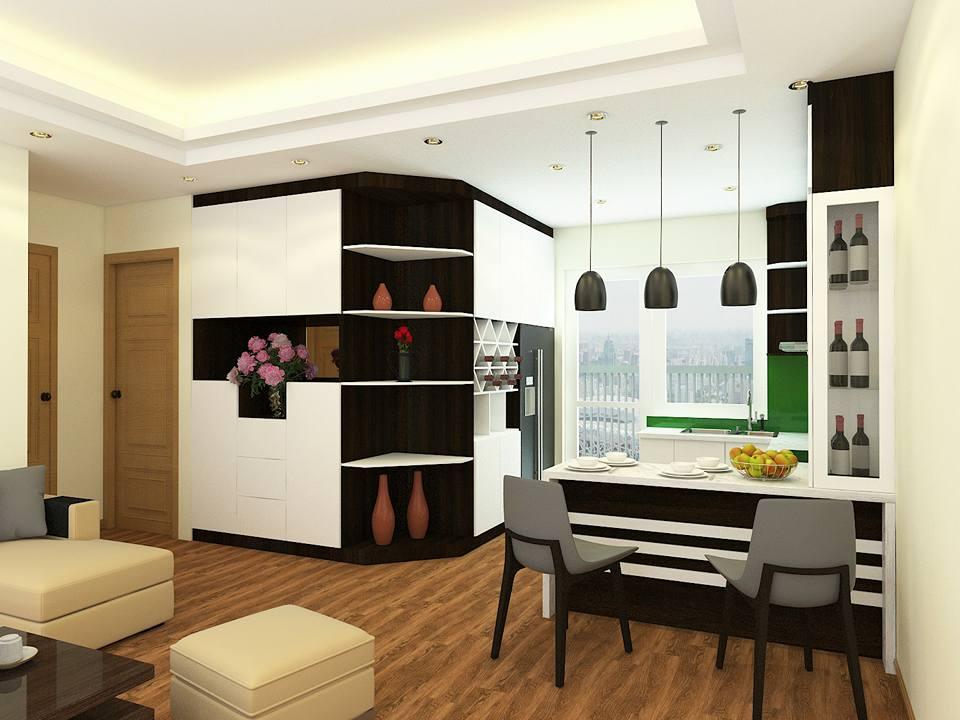 Căn hộ mẫu chung cư A1.2 Thanh Hà