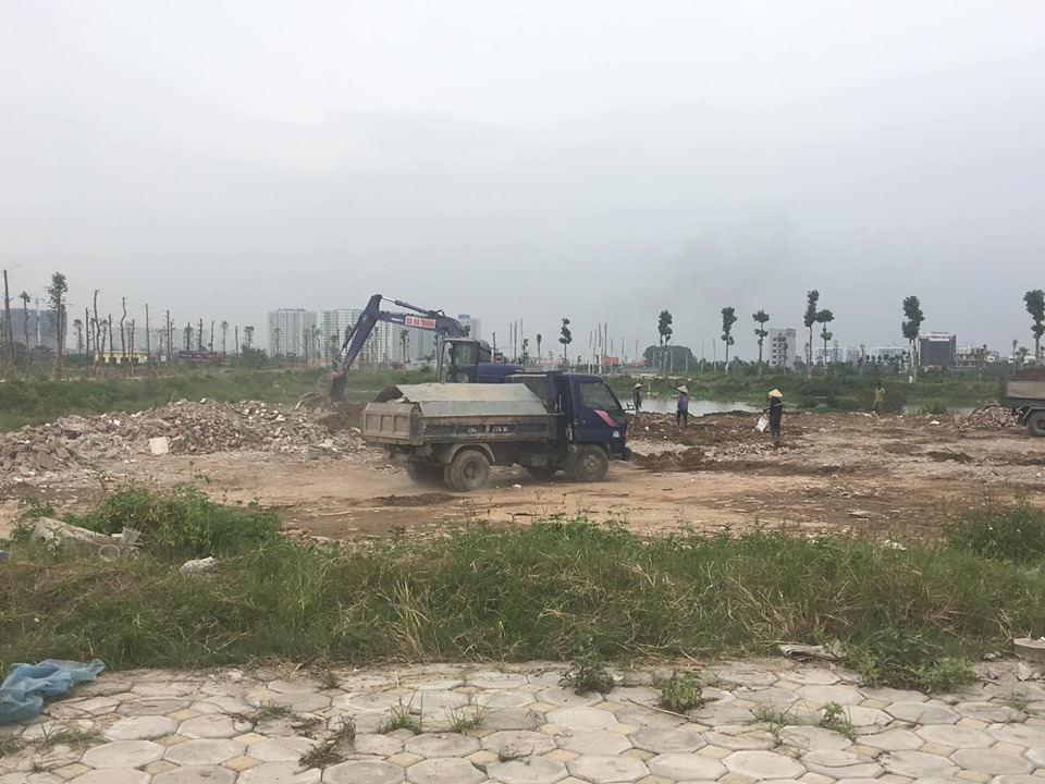 Tiến độ xây dựng chung cư A1.2 HH01 Thanh Hà
