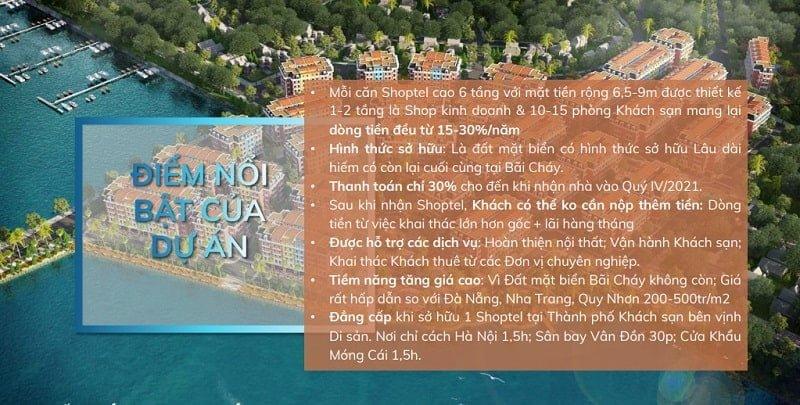 Lý do nên mua Shoptel Aqua City Hạ Long