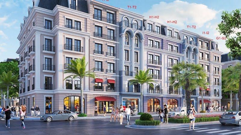Mẫu thiết kế Shoptel Aqua City Halong lô thường