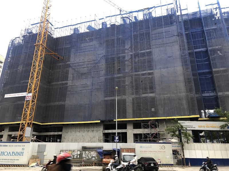 Tiến độ xây dựng Chung cư BRG Park Residence