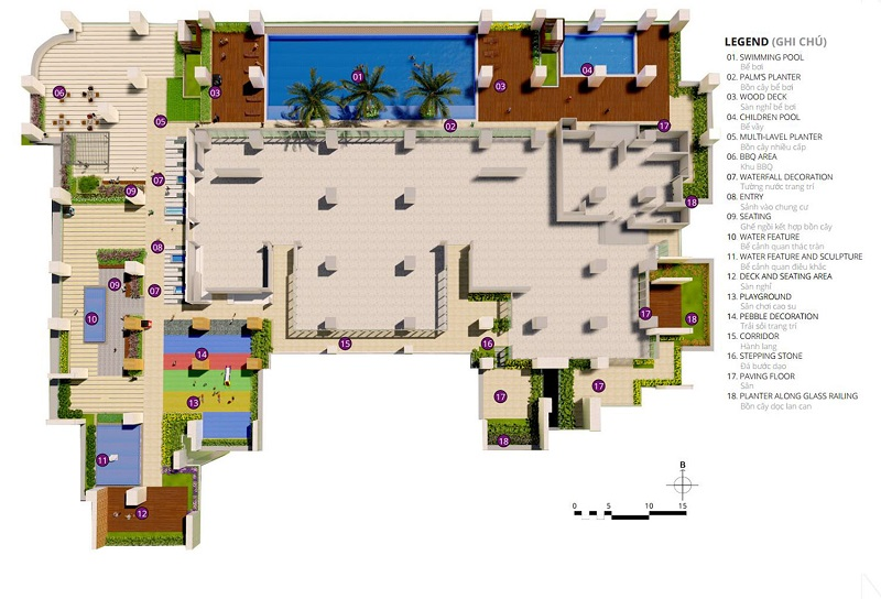 Danh sách tiện ích cao cấp tại dự án BRG Park Residence