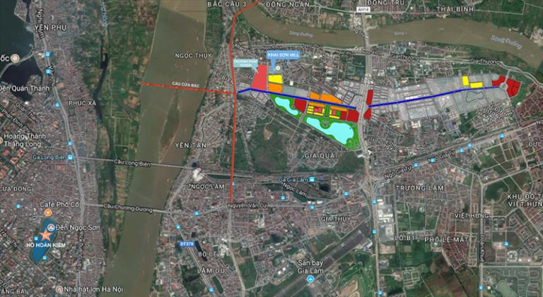 Vị trí dự án chung cư Imperia River View
