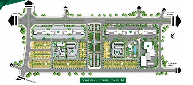 Mặt bằng thiết kế căn hộ chung cư Imperia River View