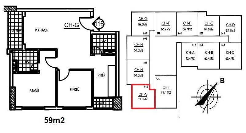 Thiết kế Nhà ở xã hội NHS Phương Canh