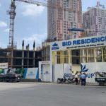tiến độ xây dựng chung cư BID Residence