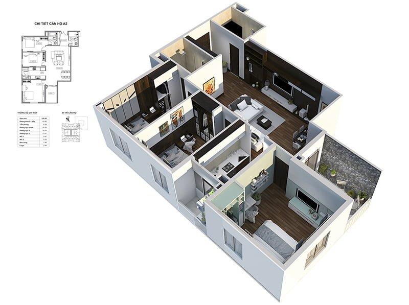 Căn hộ mẫu BID Residence
