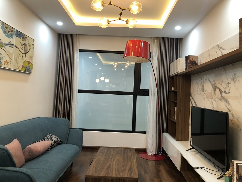 Thiết kế phòng khách Nhà mẫu BID Residence