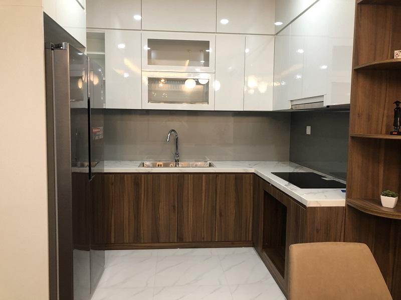 Thiết kế phòng bếp mẫu chung cư BID Residence Hà Đông