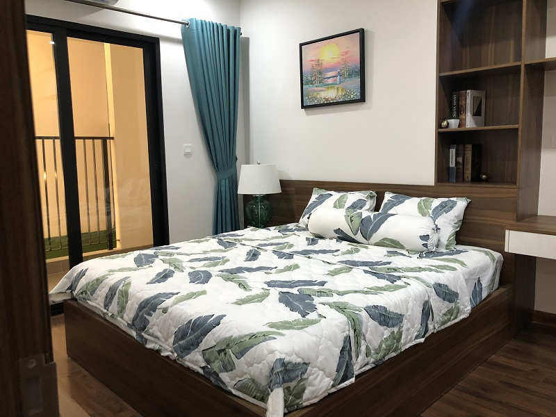 Thiết kế phòng ngủ nhà mẫu chung cư BID Residence Hà Đông