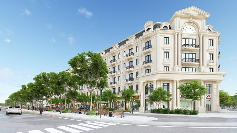 Thiết kế Shophouse Kiến Hưng Luxury