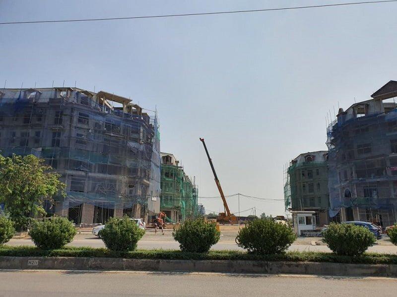 Tiến độ xây dựng dự án Kiến Hưng Luxury
