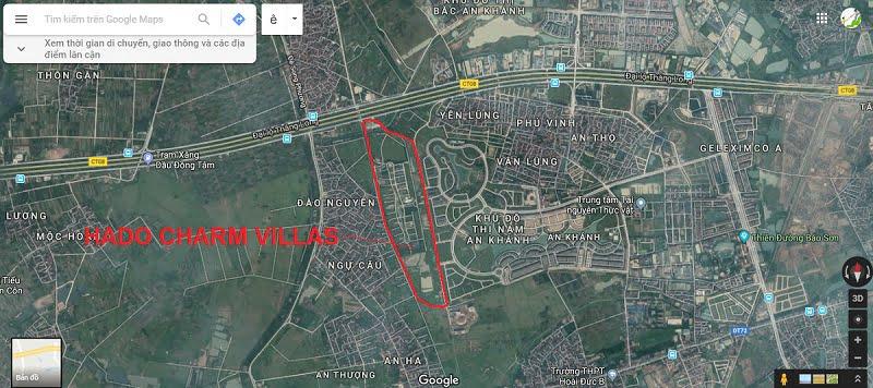Hà Đô Charm Villas Hoài Đức Google Map