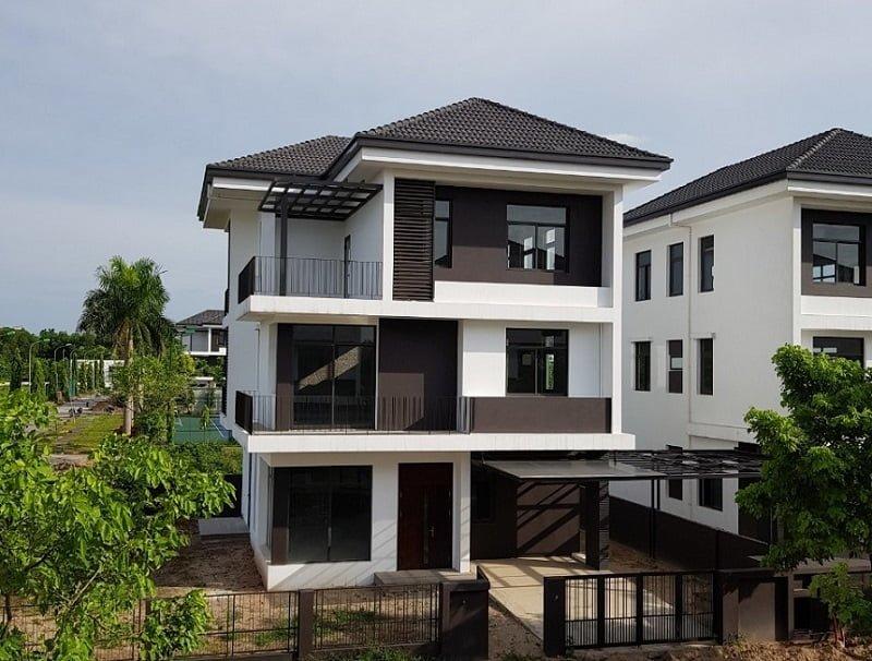 Tiến độ xây dựng biệt thự đơn lập Hà Đô Charm Villas